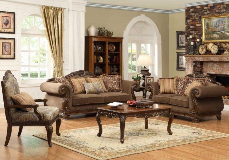 Jual Set Sofa Tamu Klasik Jati
