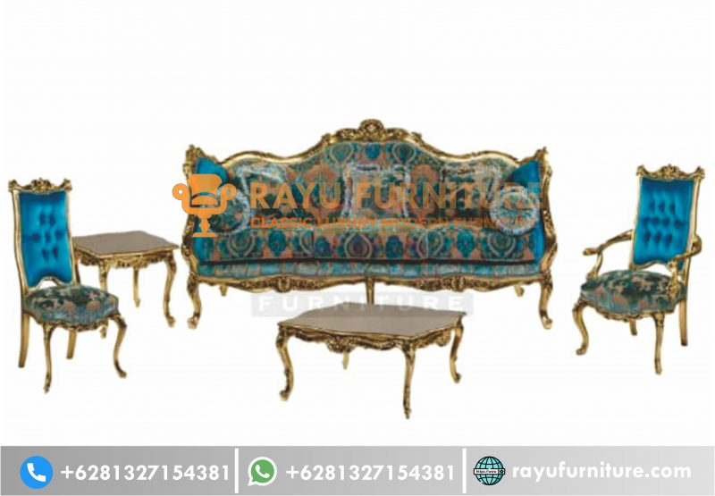 Jual Set Sofa Tamu Ukir Jati Turkey