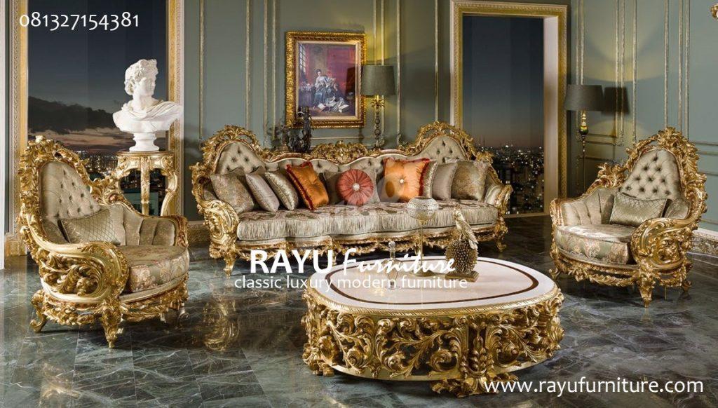 Sofa Klasik Ukir