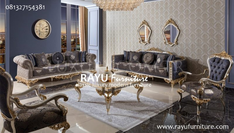 Sofa Ukir Modern
